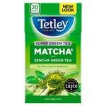 Tetley Super Green Tea Matcha Pure Green Tea 20 Tea Bags