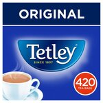 Tetley Tea Softpack 420 Teabags