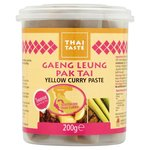 Thai Taste Yellow Curry Paste 200g