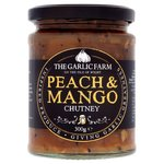 The Garlic Farm Peach and Mango Chutney 285g