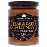 The Garlic Farm Pear and Date Chutney 300g