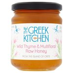 The Greek Kitchen Wild Thyme and Multifloral Raw Honey 250g