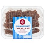 The Little Treats Co 15 Milk Chocolate Cornflake Cakes
