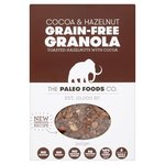 The Paleo Foods Co Cocoa and Hazel Grain-Free Granola 340g