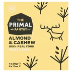 The Primal Pantry Almond and Cashew Paleo Bar 4 x 30g