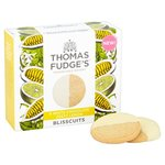 Thomas J Fudges White Chocolate Lemon Blisscuits 6 per pack