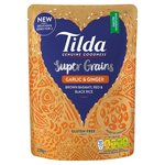 Tilda Super Grains Garlic and Ginger 220g