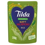 Tilda Wholegrain Hot Jalapeno Rice 250g