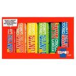Tonys Chocolonely Rainbow Tasting Pack Fairtrade 288g