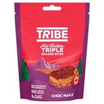 TRIBE Nut Butter Triple Decker Chocolate Maple Bites - Sharing Bag 100g