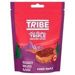 TRIBE Nut Butter Triple Decker Chocolate Maple Bites - Sharing Bag 100g