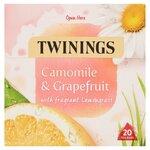 Twinings Camomile and Grapefruit Tea 20 Teabags