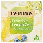 Twinings Fennel And Lemon Zest Tea 20 Teabags
