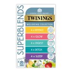 Twinings Superblends Wellbeing Collection Variety Pack 20 per pack