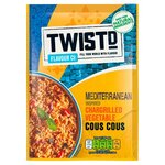 Twistd Flavour Co Mediterranean Inspired Chargrilled Vegetable Cous Cous 100g
