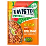 Twistd Flavour Co Mexican Inspired Smokey Super Grains with Cous Cous 100g