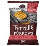 Tyrrells Aberdeen Angus Beef Furrows 50g