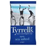 Tyrrells Lightly Sea Salted Crisps 300g
