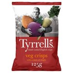 Tyrrells Veg Crisps with a dash of Maple 125g