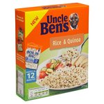 Uncle Bens Boil In The Bag Long Grain Rice and Quinoa 375g