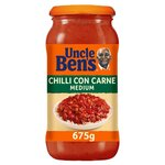 Uncle Bens Chilli Con Carne Sauce Medium 675g