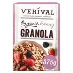 Verival Organic Berry Granola 375g