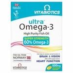 Vitabiotics Ultra Omega 3 Capsules 60 Each