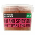 Waitrose Cooks Ingredients Hot and Spicy Rub 50g