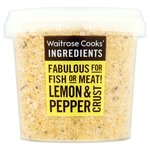 Waitrose Cooks Ingredients Lemon and Pepper Crust 130g