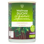 Waitrose Duchy Organic Chickpeas in Water 400g