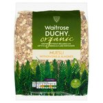 Waitrose Duchy Organic Muesli with Raisins and Almonds