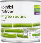 Waitrose Essential Cut Green Beans 400g