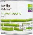 Waitrose Essential Cut Green Beans 400g