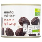 Waitrose Essential Prunes in Syrup 220g