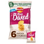 Walkers Baked Prawn Cocktail 6 Pack