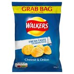 Walkers Cheese and Onion Crisps 60g
