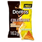 Walkers Doritos Collisions Honey Ribs and Lemon Tortilla Chips 162g