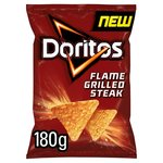 Walkers Doritos Flame Grilled Steak 180g