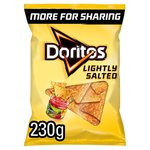 Walkers Doritos Lightly Salted 230g