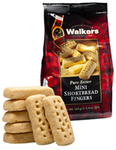 Walkers Mini Shortbread Fingers Bag Case of 12x125g