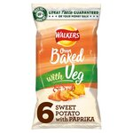 Walkers Oven Baked Sweet Potato with Paprika 6 pack