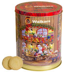 Walkers Pure Butter Festive Musical Tin Shortbread 200g