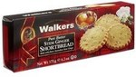 Walkers Pure Butter Stem Ginger Shortbread Case of 12x175g