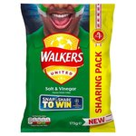 Walkers Salt and Vinegar Crisps 175g