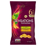 Walkers Sensations Variety Poppadoms 6 Pack