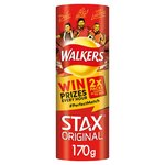 Walkers Stax Original Ready Salted Flavour 170g