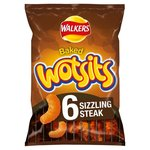 Walkers Wotsits Sizzling Steak 6 Pack