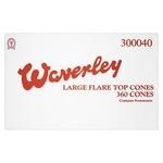 Waverley 360 Large Flare Top Cones