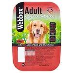 Webbox Natural Beef  Vegetable and Brown Rice Dog Food 400g