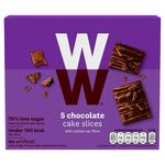 Weight Watchers Chocolate Cake Slices x5